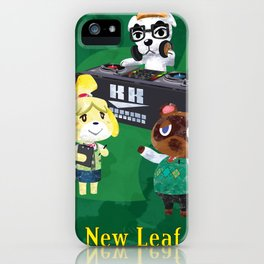 Animal Crossing: New Leaf iPhone Case