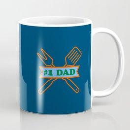 #1 Dad - BBQ Coffee Mug