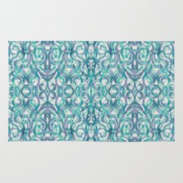 Floral Abstract Pattern G27 Rug