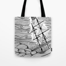 capsized Tote Bag