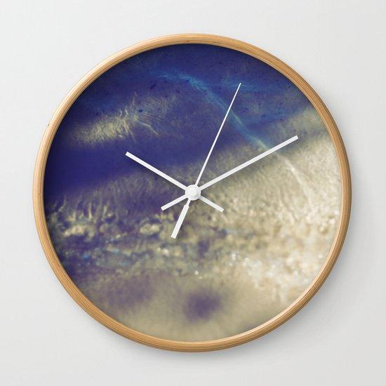 Soft Waves Wall Clock