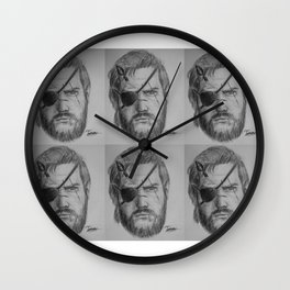 Punished Venom Snake - Metal Gear Solid V: The Phantom Pain Wall Clock
