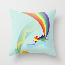 The Best Fliers in the Academy Throw Pillow