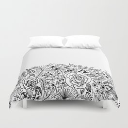 edge of the meadow Duvet Cover