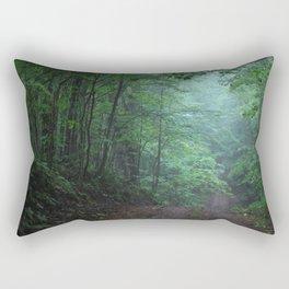 Light in the Forest Rectangular Pillow