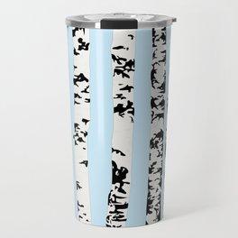 Birch pattern Travel Mug