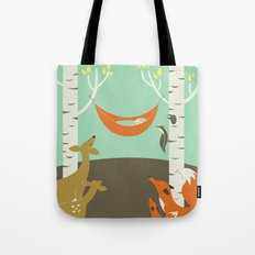 Woodland Baby Tote Bag