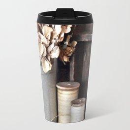 Vintage Vignette Travel Mug