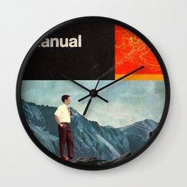 The Manual Wall Clock