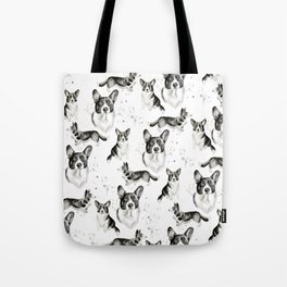 Corgi Collection Cardigan Welsh Corgi Print 1 Tote Bag