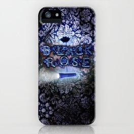 """Black Rose"" Game Title iPhone Case"