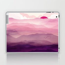 Ultra Violet Day Laptop & iPad Skin