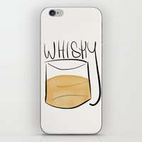 whisky iPhone & iPod Skins featuring Whisky  by N140