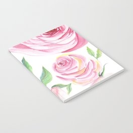 Roses Water Collage Notebook