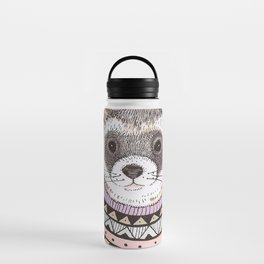 Hipster Ferret Water Bottle