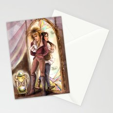 Jareth and Sarah Labyrinth Stationery Cards
