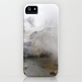 Steam in New Zealand iPhone Case