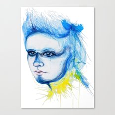Metamorphosis-Blue Tit Canvas Print
