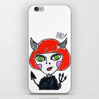 evil iPhone & iPod Skins featuring Evil by Amy Lee