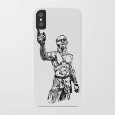 Techno Viking Love  iPhone X Slim Case