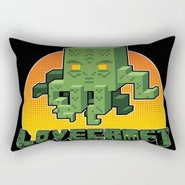 Minecraftian Rectangular Pillow