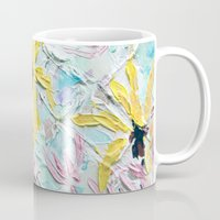 once upon a  time Mugs featuring Once Upon a Time by Ann Marie Coolick