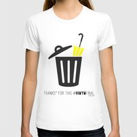 himym T-shirts featuring Thanks for this HIMYMfinal by Violet's Corner