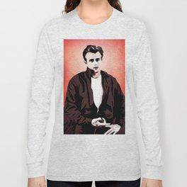 James Rebel Dean - Pop Art Long Sleeve T-shirt