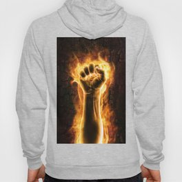 Fire fist Hoody