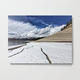 Palisades Reservoir-Idaho Metal Print