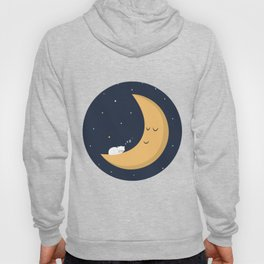 The Cat and the Moon Hoody