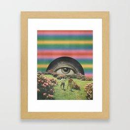 Magic Eye I Framed Art Print