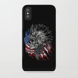 Indian Hunter iPhone Case