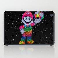 mario bros iPad Cases featuring Mario Bros by Luna Portnoi