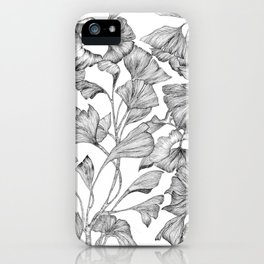 Gingko biloba iPhone Case