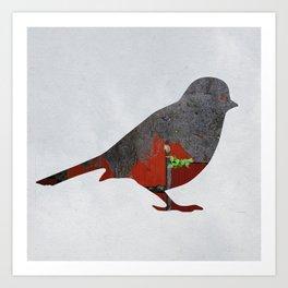 Little Garden Bird Art Print