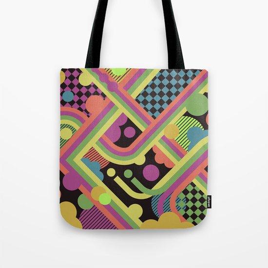 Multi-Color Geometric Fantasy Tote Bag