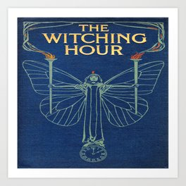 The Witching Hour Book Art Print