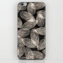 Fallen Fairy Wings - Silver Screen Edition iPhone Skin