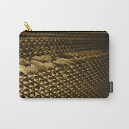Vintage Wine Carry-All Pouch