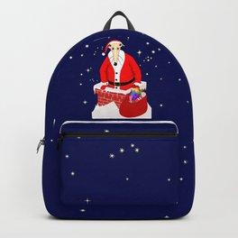 Christmas Whippet Backpack