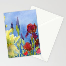 Blue Skies and Happiness Stationery Cards
