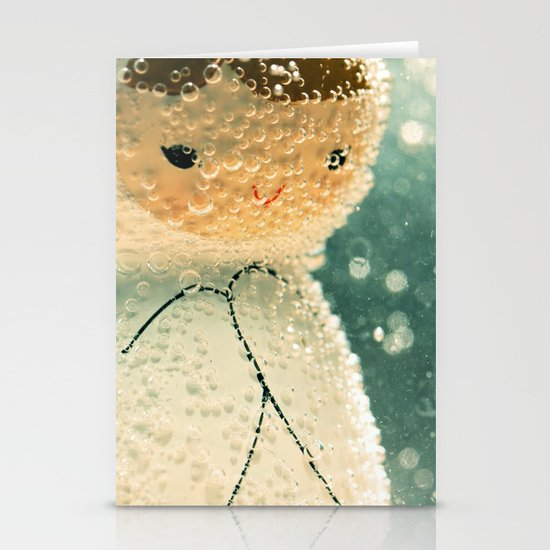 Snuggle bubble Stationery Cards