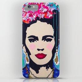 Frida Kahlo by Paola Gonzalez iPhone Case