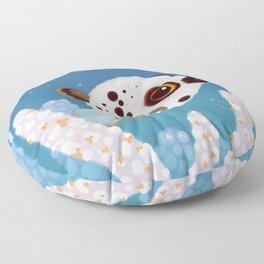 Blackspotted puffer Floor Pillow