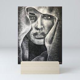 Shadowed Sincerity Mini Art Print