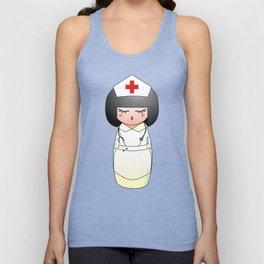 Kokeshi Nurse Unisex Tank Top