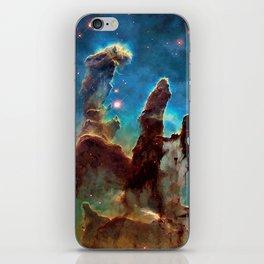 Eagle Nebula's Pillars iPhone Skin