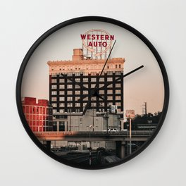 Western Auto - Kansas City Wall Clock