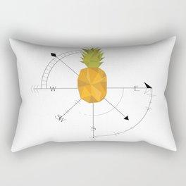 Pineapple Compass Rectangular Pillow